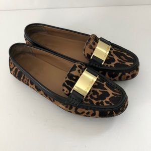 Calvin Klein Lisette Driving Loafers Animal